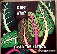 Kale Who?  Taste The Rainbow