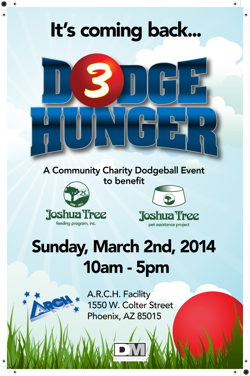 3rd Annual DodgeHunger